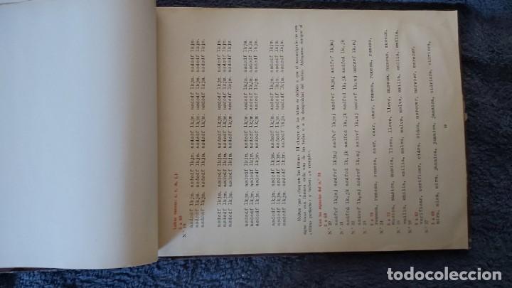 Antigüedades: Curso de mecanografia de la máquina de escribir UNDERWOOD - Foto 5 - 195868570
