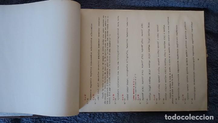 Antigüedades: Curso de mecanografia de la máquina de escribir UNDERWOOD - Foto 8 - 195868570