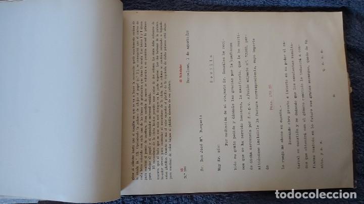 Antigüedades: Curso de mecanografia de la máquina de escribir UNDERWOOD - Foto 17 - 195868570