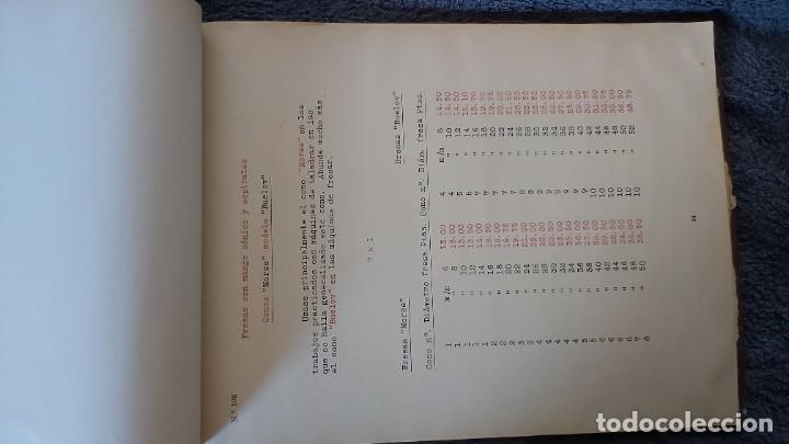 Antigüedades: Curso de mecanografia de la máquina de escribir UNDERWOOD - Foto 20 - 195868570