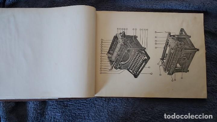 Antigüedades: Curso de mecanografia de la máquina de escribir UNDERWOOD - Foto 41 - 195868570