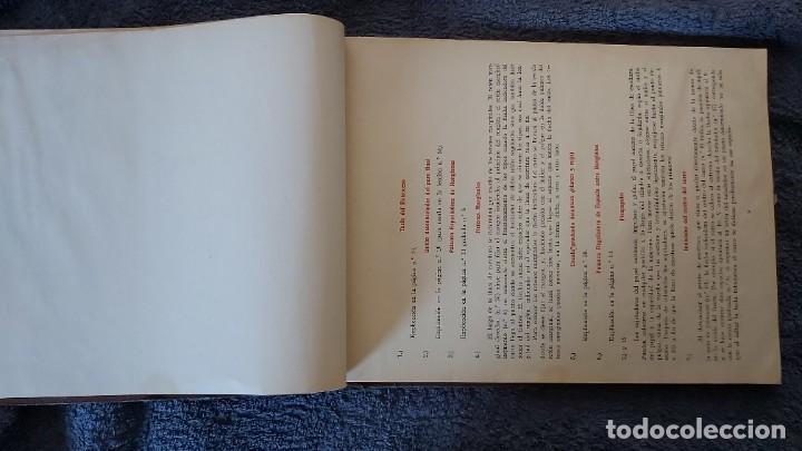 Antigüedades: Curso de mecanografia de la máquina de escribir UNDERWOOD - Foto 43 - 195868570