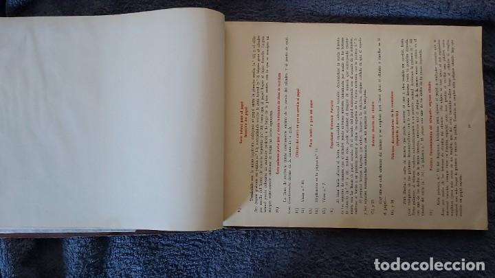 Antigüedades: Curso de mecanografia de la máquina de escribir UNDERWOOD - Foto 44 - 195868570