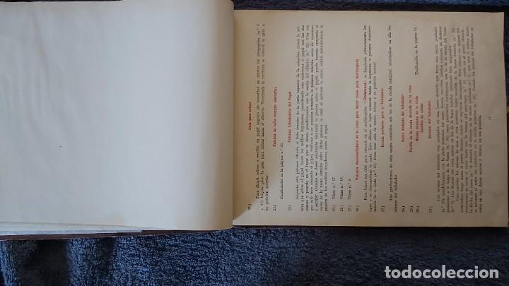 Antigüedades: Curso de mecanografia de la máquina de escribir UNDERWOOD - Foto 45 - 195868570
