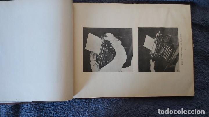 Antigüedades: Curso de mecanografia de la máquina de escribir UNDERWOOD - Foto 49 - 195868570
