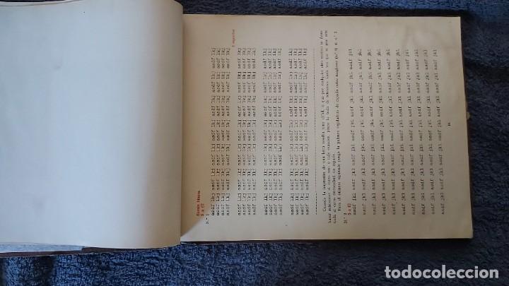 Antigüedades: Curso de mecanografia de la máquina de escribir UNDERWOOD - Foto 50 - 195868570