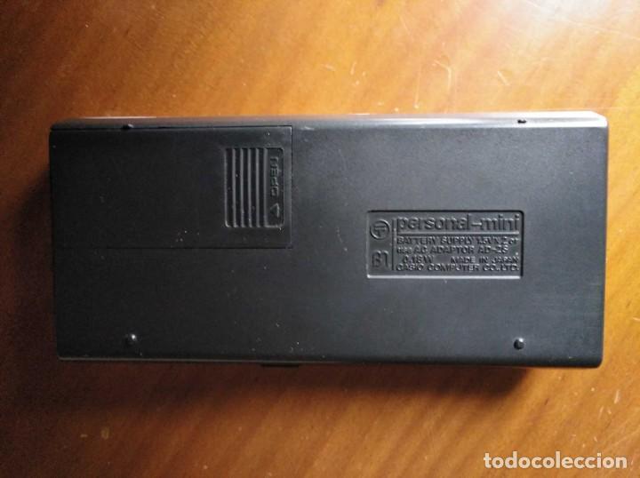 Antigüedades: ANTIGUA CALCULADORA CASIO PERSONAL MINI ELECTRONIC CALCULATOR AÑOS 70 PERSONAL-MINI CALCULATOR - Foto 25 - 195872893