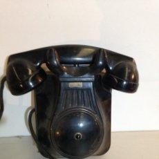Teléfonos: TELÉFONO DE BAKELITA PARA COMUNICACIÓN INTERNA. Lote 195917322