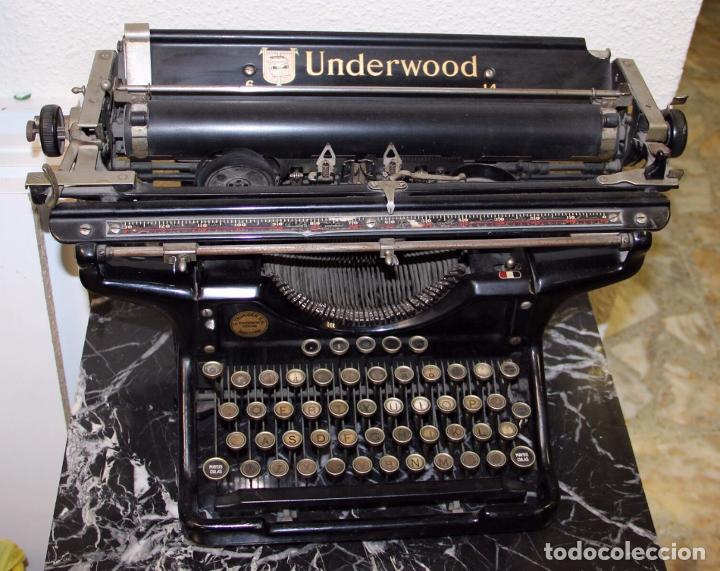 MÁQUINA DE ESCRIBIR UNDERWOOD 6-14 ELLIOTT-FISHER MADE IN USA (Antigüedades - Técnicas - Máquinas de Escribir Antiguas - Underwood)