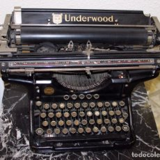 Antigüedades: MÁQUINA DE ESCRIBIR UNDERWOOD 6-14 ELLIOTT-FISHER MADE IN USA. Lote 195947688
