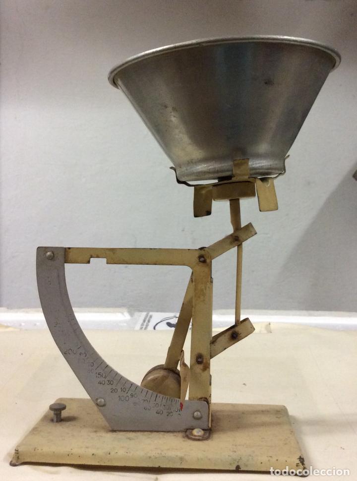 ANTIGUA BÁSCULA POSTAL DE ORIGEN FRANCÉS. IDEAL COLECCIONISTAS (Antigüedades - Técnicas - Medidas de Peso - Básculas Antiguas)