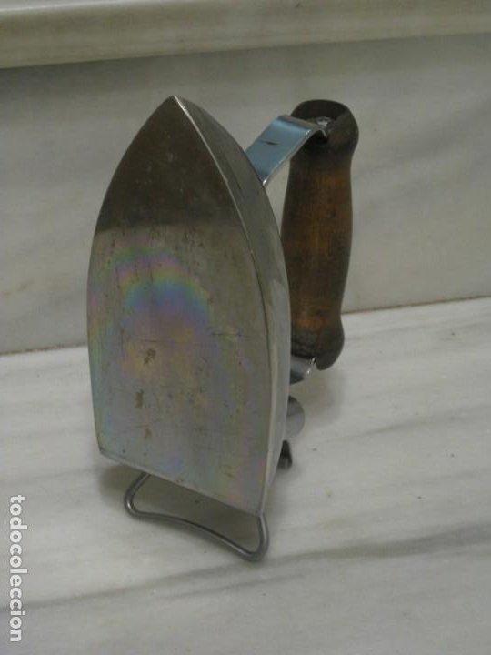 Antigüedades: Planche electrica antigua. Calor Standord. - Foto 9 - 195970053