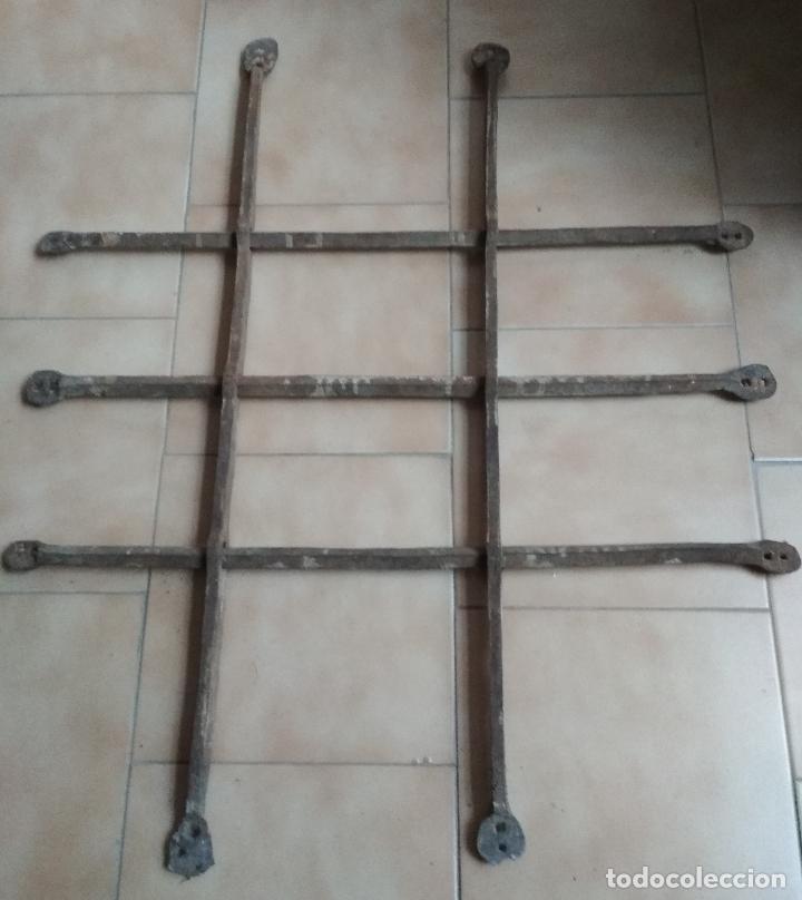 ANTIGUA REJA HIERRO FORJA (Antigüedades - Técnicas - Cerrajería y Forja - Varios Cerrajería y Forja Antigua)