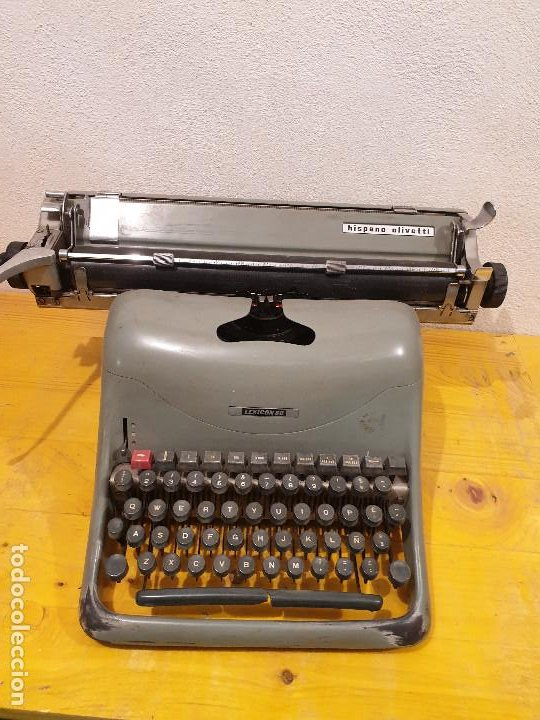 MAQUINA ESCRIBIR HISPANO OLIVETI (Antigüedades - Técnicas - Máquinas de Escribir Antiguas - Otras)