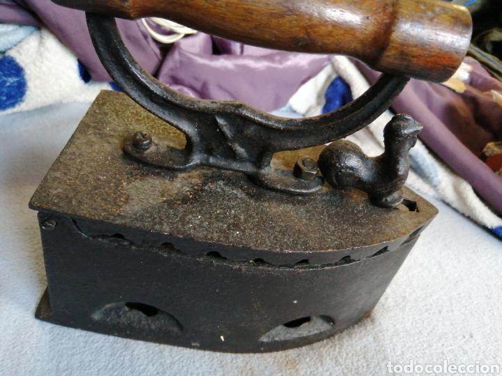 Antigüedades: Plancha a carbón original y en excelente estado - Foto 2 - 196037801