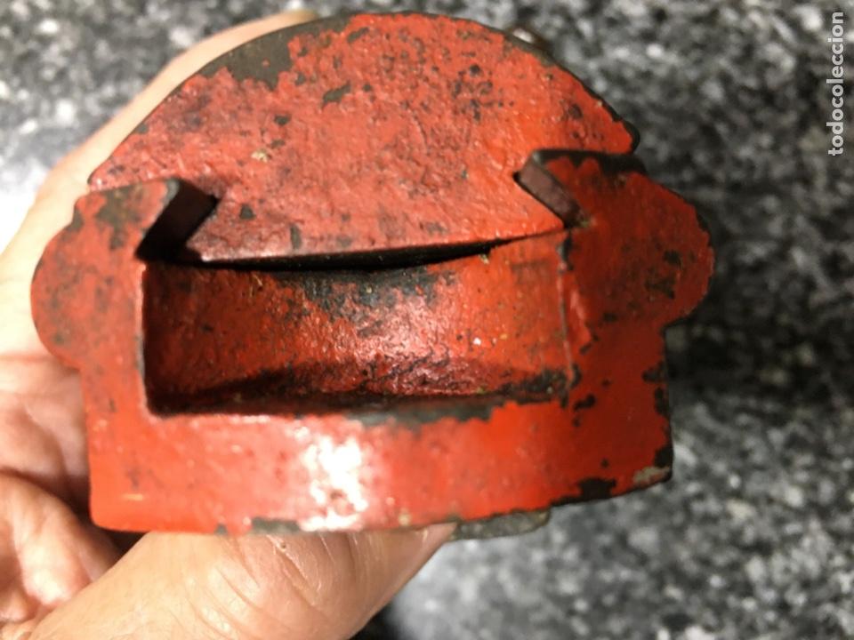 Antigüedades: Tornillo pequeño de platero, para banco atornillado, buen estado mordaza y sinfin - Foto 5 - 196057580