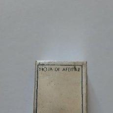 Antigüedades: CAJA DE HOJAS DE AFEITAR FAURE (CONTIENE 10 HOJAS EN SUS FUNDAS).. Lote 196189191