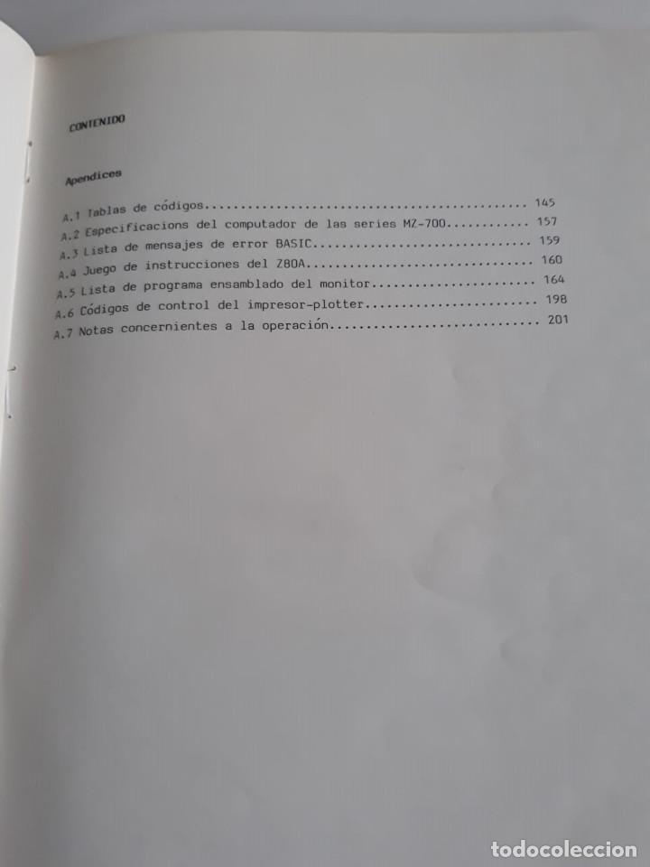 Antigüedades: Manual de usuario - MZ - 700 - Español - Sharp - Foto 3 - 196242746