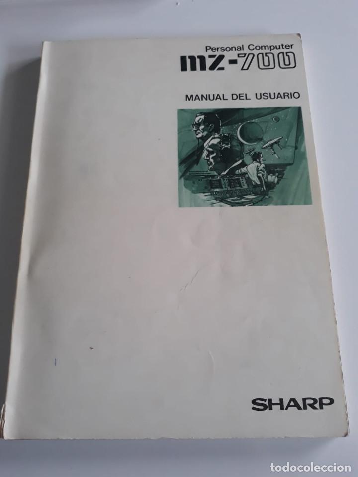MANUAL DE USUARIO - MZ - 700 - ESPAÑOL - SHARP (Antigüedades - Técnicas - Ordenadores hasta 16 bits (anteriores a 1982))