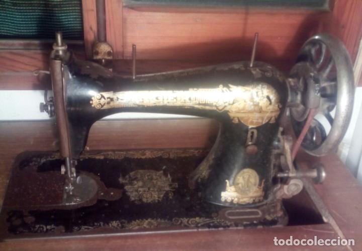Antigüedades: Máquina de coser - Foto 2 - 196260381