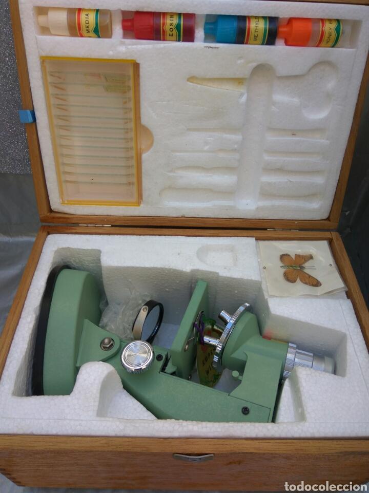 Antigüedades: MICROSCOPIO Y.K.S. NUEVO - Foto 3 - 196260701