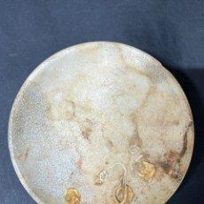 Antigüedades: PLATO CON ESCARAMUJOS DEL MAR DE PICKMAN Y COMPAÑIA. DIAMETRO APROX.: 14.5 CM. ALTURA APROX.: 3 CM.. Lote 196488600