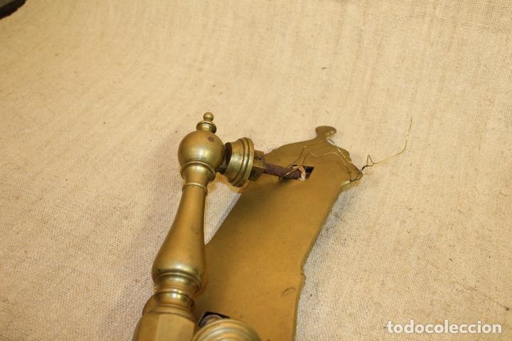 Antigüedades: picaporte aldaba de bronce - Foto 2 - 196523843