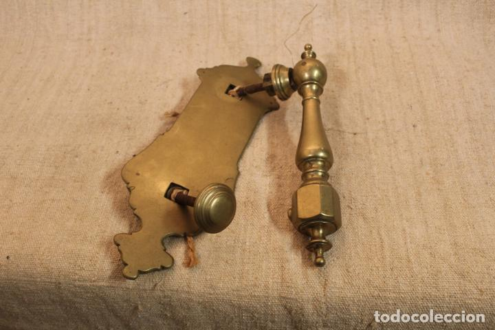 PICAPORTE ALDABA DE BRONCE (Antigüedades - Técnicas - Cerrajería y Forja - Aldabas Antiguas)