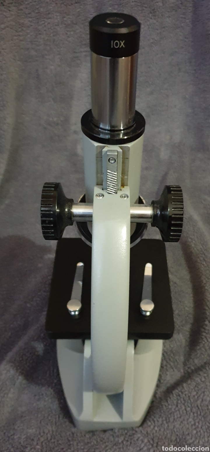 Antigüedades: Microscopio antiguo kyowa Tokyo - Foto 3 - 196526097