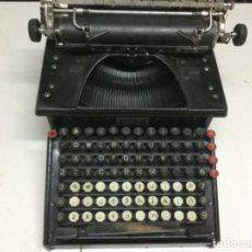 Antigüedades: MAQUINA DE ESCRIBIR - SMITH PREMIER TYPEWRITER Nº 10. Lote 196531515