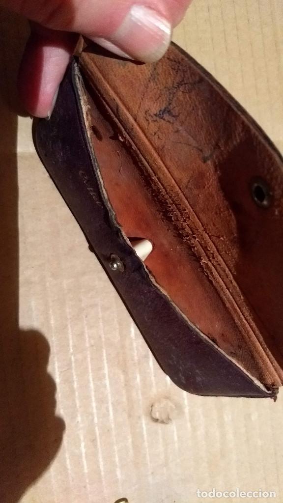 Antigüedades: Gafas de pasta antiguas con funda, Cottet. - Foto 5 - 196536731