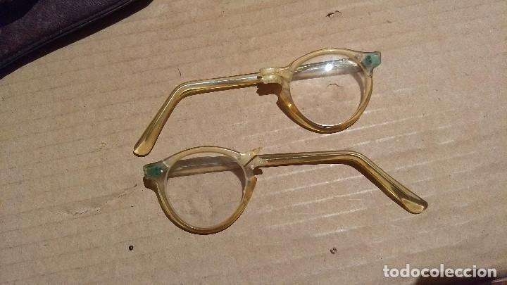 Antigüedades: Gafas de pasta antiguas con funda, Cottet. - Foto 12 - 196536731