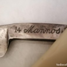 Antigüedades: NAVAJA MANNOS 14 CLASE EXTRA. Lote 196679681