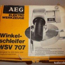 Antigüedades: AEG WSV 707. Lote 196810222