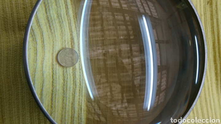 Antigüedades: LUPA MARINA ANTIGUA 21Cm, diámetro x 11cm .... BITÁCORA BRÚJULA MAPAS , INSTRUMENTACIÓN NAVAL, ETC - Foto 21 - 196867947