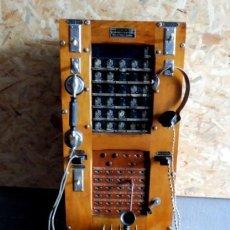 Teléfonos: EXTRAORDINARIA CENTRALITA FRANCESA 1940. Lote 196953541
