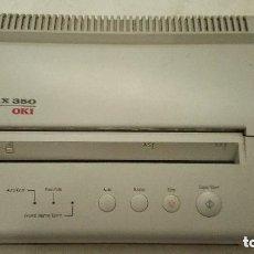 Teléfonos: FAX OKI 350 - FUNCIONANDO - CON PAPEL. Lote 196957800