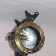 Antiguidades: LAMPARA INGLESA SEÑALES DE MORSE PARA BARCOS ALDIS LAMP AÑOS 50. Lote 197063902