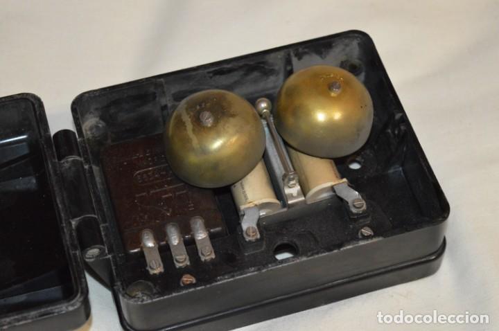 Teléfonos: MARCONI / España - Antiguo timbre exterior, para teléfono - BAKELITA / BAQUELITA - ¡Muy raro, mira! - Foto 4 - 197129607