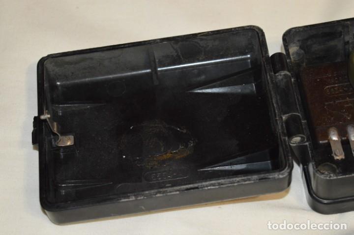 Teléfonos: MARCONI / España - Antiguo timbre exterior, para teléfono - BAKELITA / BAQUELITA - ¡Muy raro, mira! - Foto 6 - 197129607