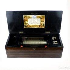 Antigüedades: MUSICAL BOX- CAJA DE MÚSICA 8 MELODÍAS - SUIZA, FINALES SIGLO XIX. Lote 197174256