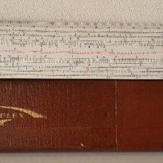 Antigüedades: ANTIGUA REGLA DE CALCULO RAPHOPLEX 640. Lote 197208277