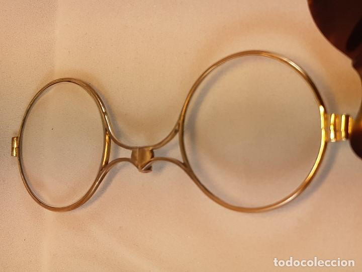 Antigüedades: Impertinentes. Automáticos.Baño de oro, carey?. Siglo XIX. - Foto 3 - 197211107