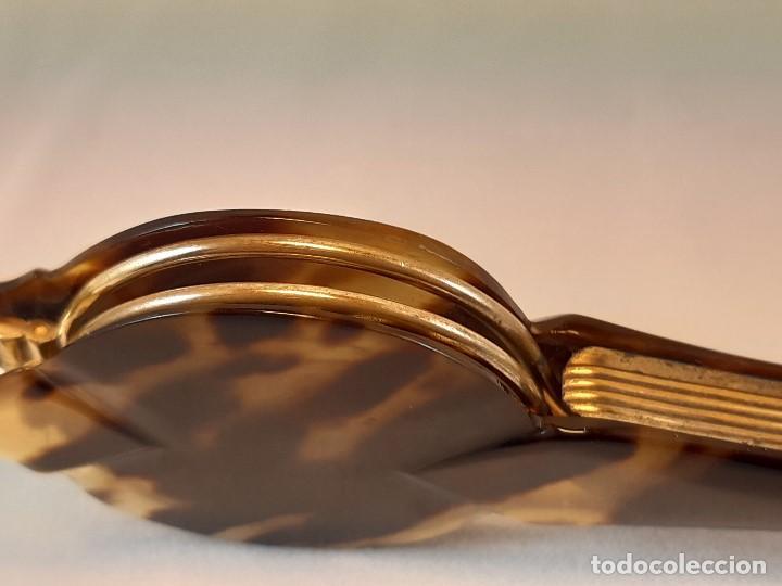 Antigüedades: Impertinentes. Automáticos.Baño de oro, carey?. Siglo XIX. - Foto 11 - 197211107