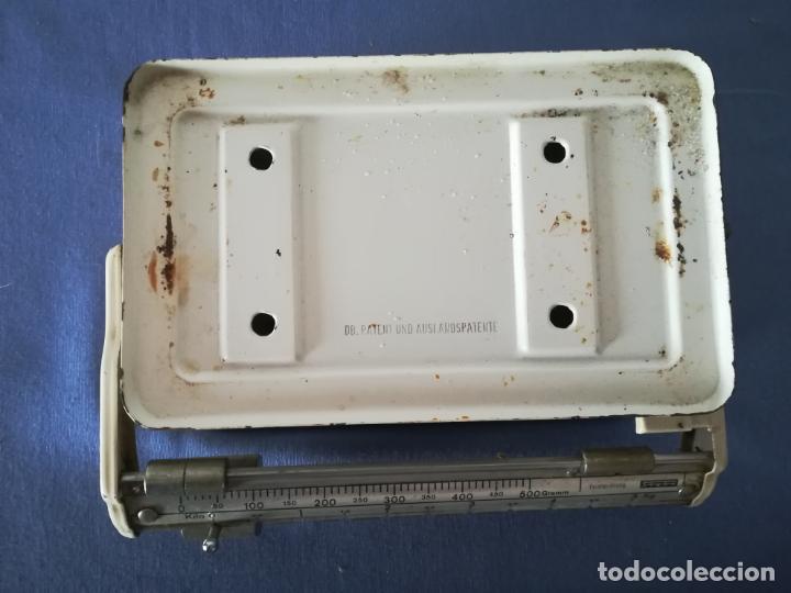 Antigüedades: Balanza alemana Stube de 5 kg - Foto 4 - 197218058