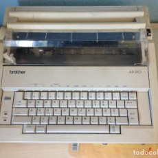 Antigüedades: MÁQUINA DE ESCRIBIR ELECTRICA,BROTHER AX-210. Lote 197250825