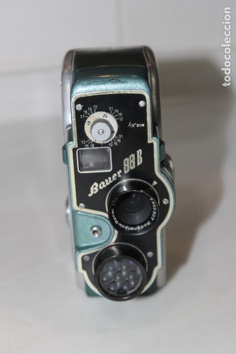 Antigüedades: ANTIGUA CAMARA 8 MM BAUER 88 B - Foto 8 - 197253716