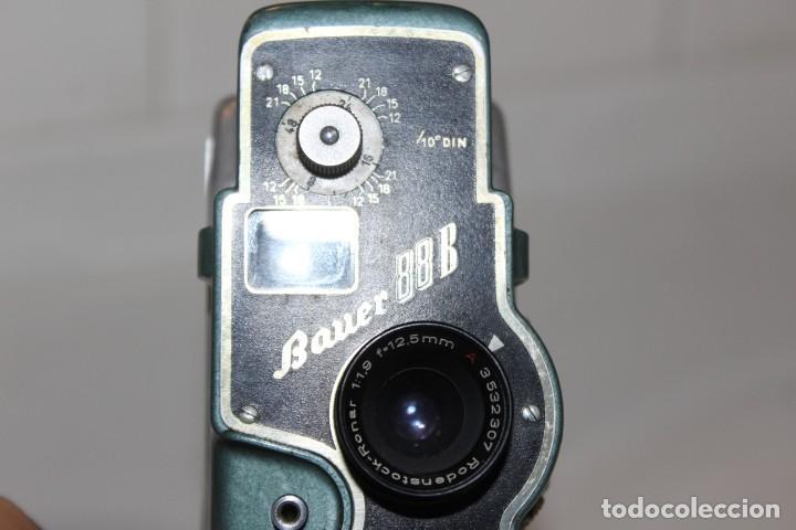 Antigüedades: ANTIGUA CAMARA 8 MM BAUER 88 B - Foto 9 - 197253716