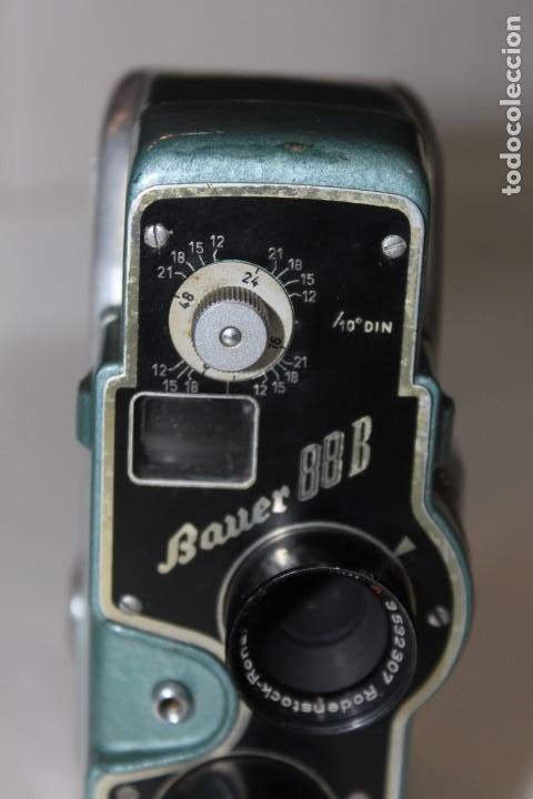 Antigüedades: ANTIGUA CAMARA 8 MM BAUER 88 B - Foto 10 - 197253716