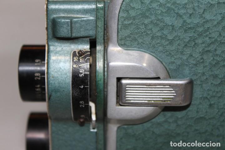 Antigüedades: ANTIGUA CAMARA 8 MM BAUER 88 B - Foto 11 - 197253716